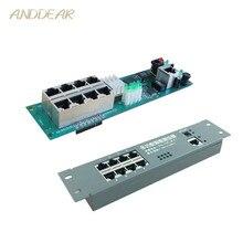 Мини-маршрутизатор модуль умный металлический корпус с Кабельная распределительная коробка 8 портов маршрутизатор OEM модули с кабелем маршрутизатор модуль материнская плата