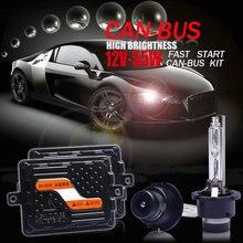 Kit de Ballast au xénon pour phares de voiture 12V/55W, Ultra CANBUS/rapide et brillante, qualité supérieure D2H/H1/H7/H11/9005/HIR2/H4 bi xénon