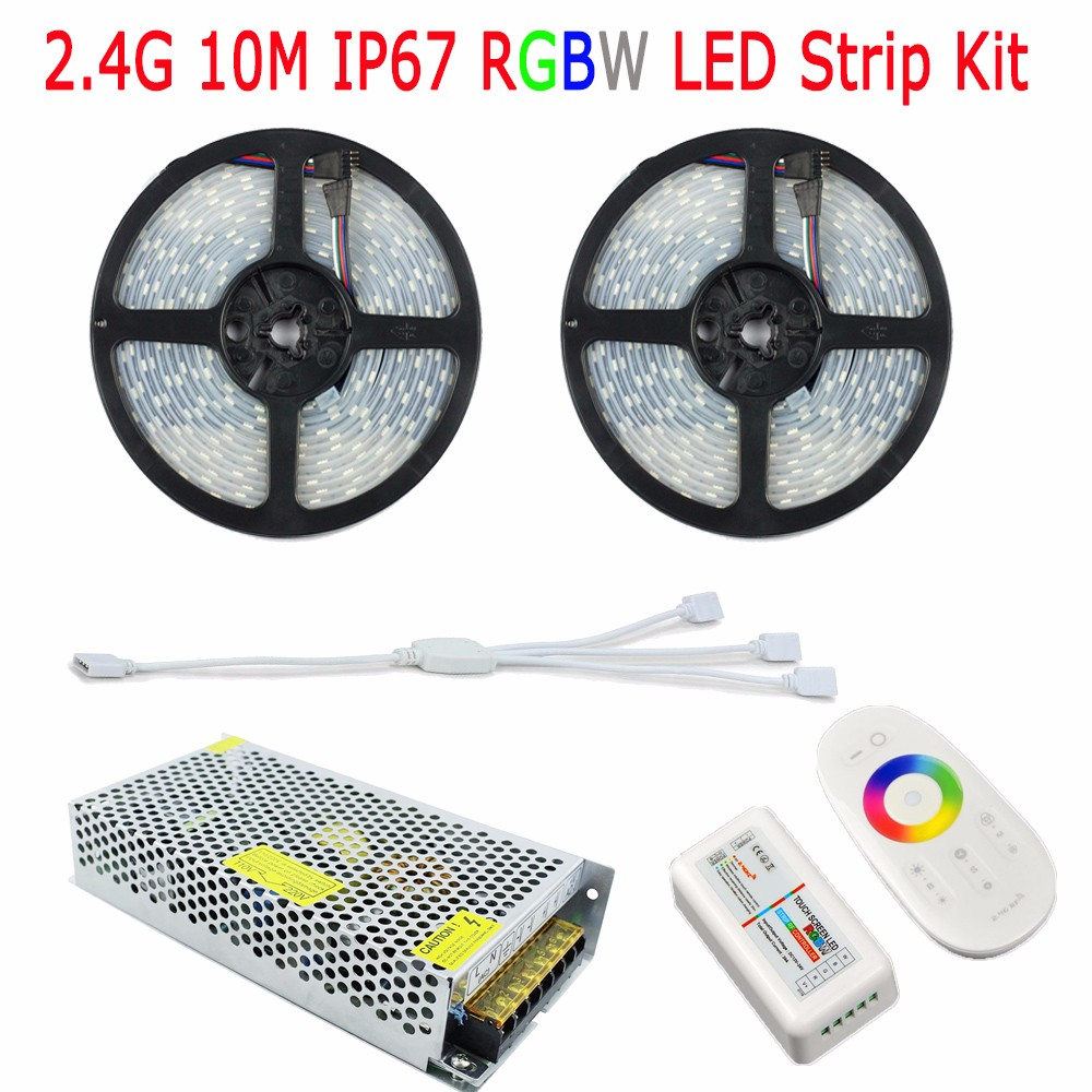 2.4G-10M-IP67-RGBW-Kit