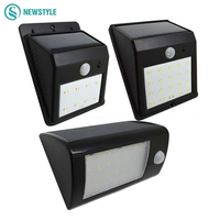 Led Solar Light 8 20 28Led Outdoor Lamp Waterproof PIR Motion Sensor Solar Lamp For Energy