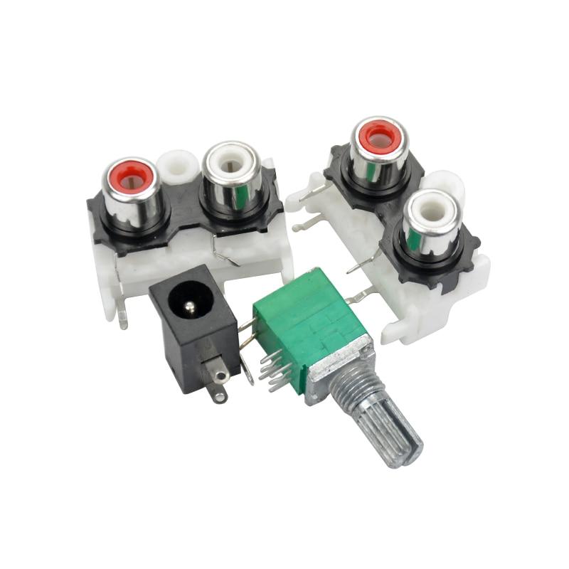 AIYIMA 6J1 Tube Pre Amp Amplifier Board Valve Buffer PreAmp Amplifiers DIY  Kits Tube Preamplifier Board Gall Buffers Amplifier