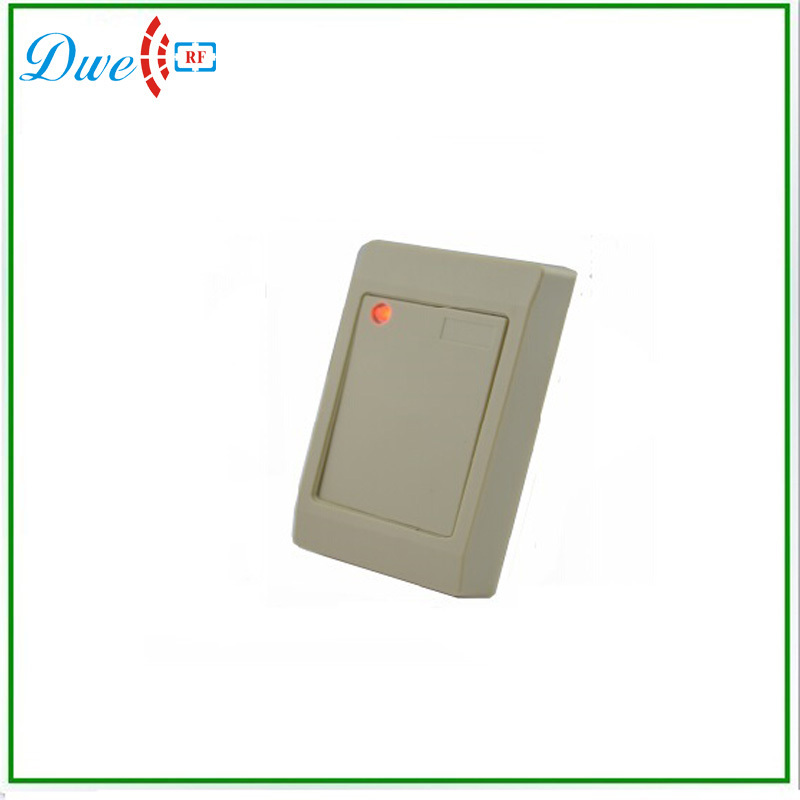 125khz weigand 26 bits waterproof rfid access control reader outdoor mf 13 56mhz weigand 26 door access control rfid card reader with two led lights