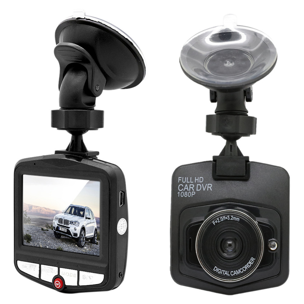 Car DVR Dash-Dvr Camera Registrator-Recorder Video G-Sensor Night-Vision Black/blue Full-Hd