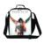 Dispalang térmica bolsas de almuerzo aislada cooler llevar almacenamiento superestrella jackson dancing niños lonchera bolsa de comida bolsa de almuerzo para las mujeres