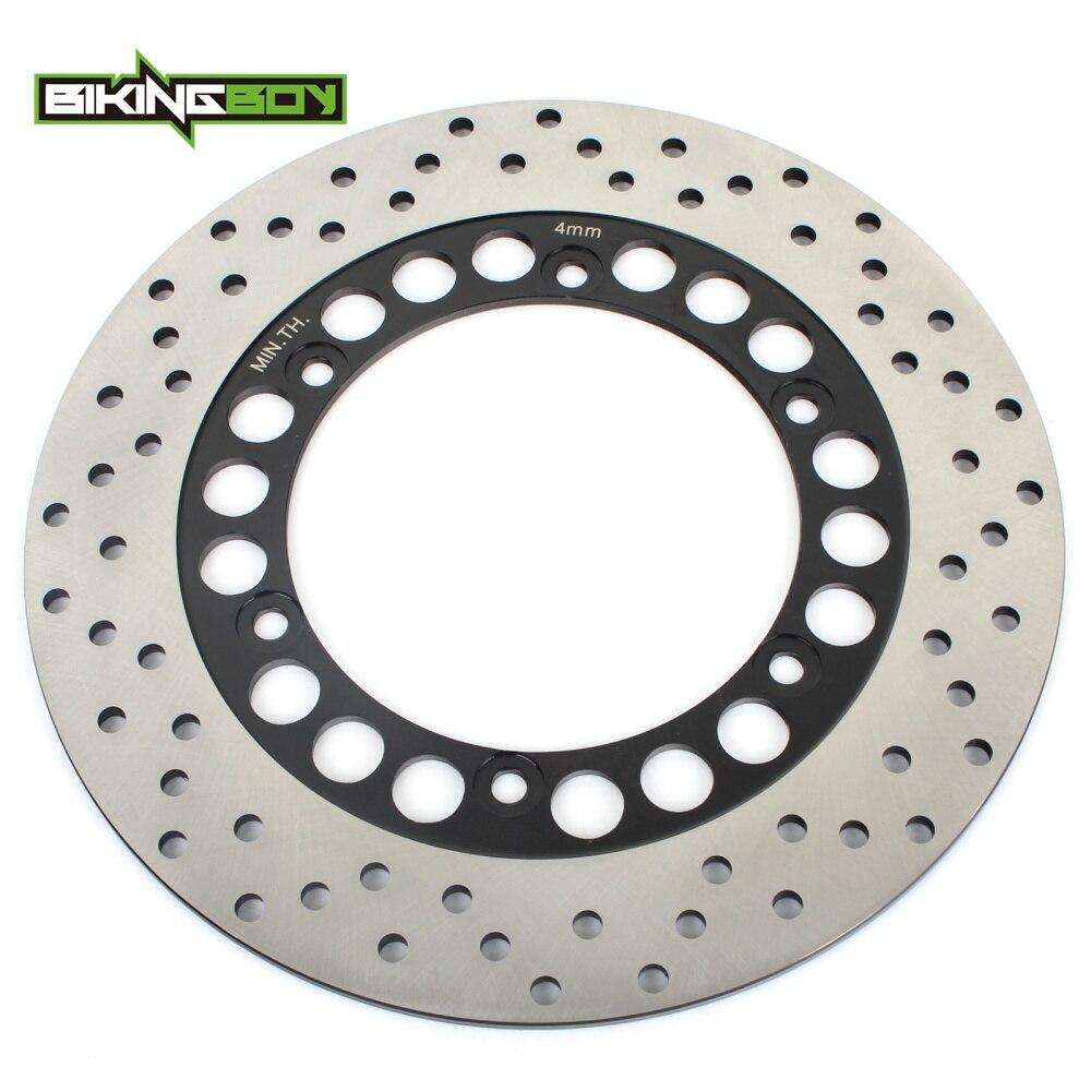BIKINGBOY Rear Brake Disc Disk Rotor For YAMAHA FZS 1000 Fazer 2001 2005 XJR 1200 1300