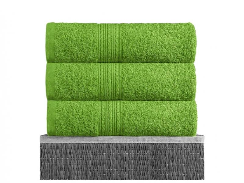 Towel for body BAYRAMALY, 50*90 cm Green face towel rosеberry citazione 50 90 cm light green
