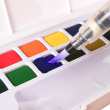 Umitive 3pcs Water Brush Ink WaterColor Calligraphy Painting Soft Brush Pen For Beginner Painting Drawing Art Supplies