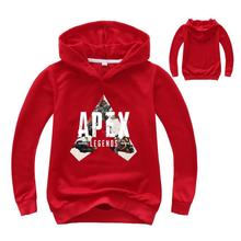 2-16Years 2019 New Hot Game Apex Legends Hoodie Kids Hoodies Boys Sweatshirts for Teenagers Pullover Shirt Baby Girl Clothes