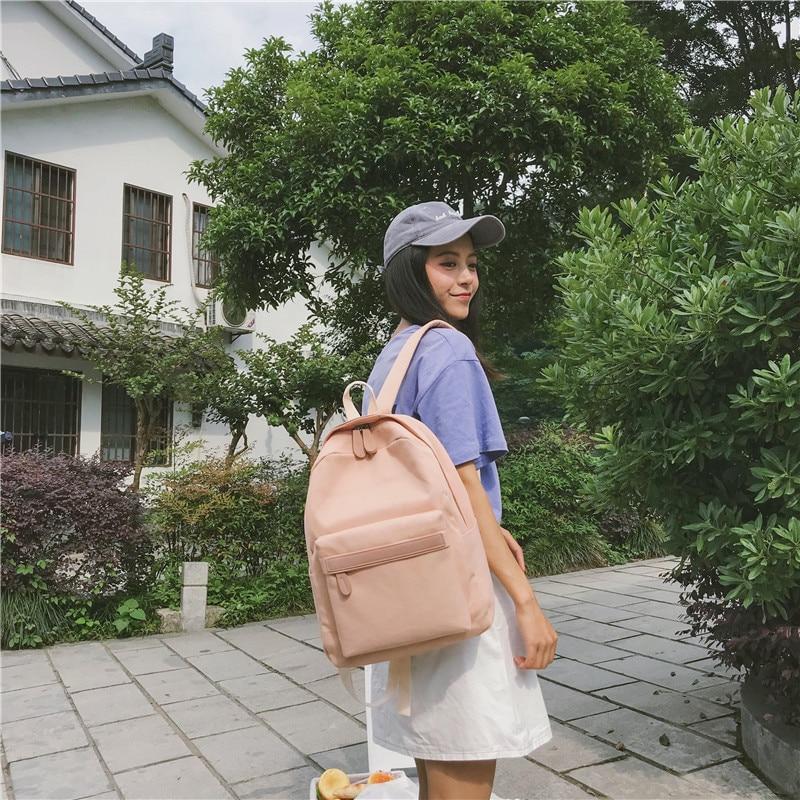 HTB18lqtXULrK1Rjy0Fjq6zYXFXaB 2019 Women Canvas Backpacks Ladies Shoulder School Bag Backpack Rucksack for Girls Travel Fashion Bag Bolsas Mochilas Sac A Dos