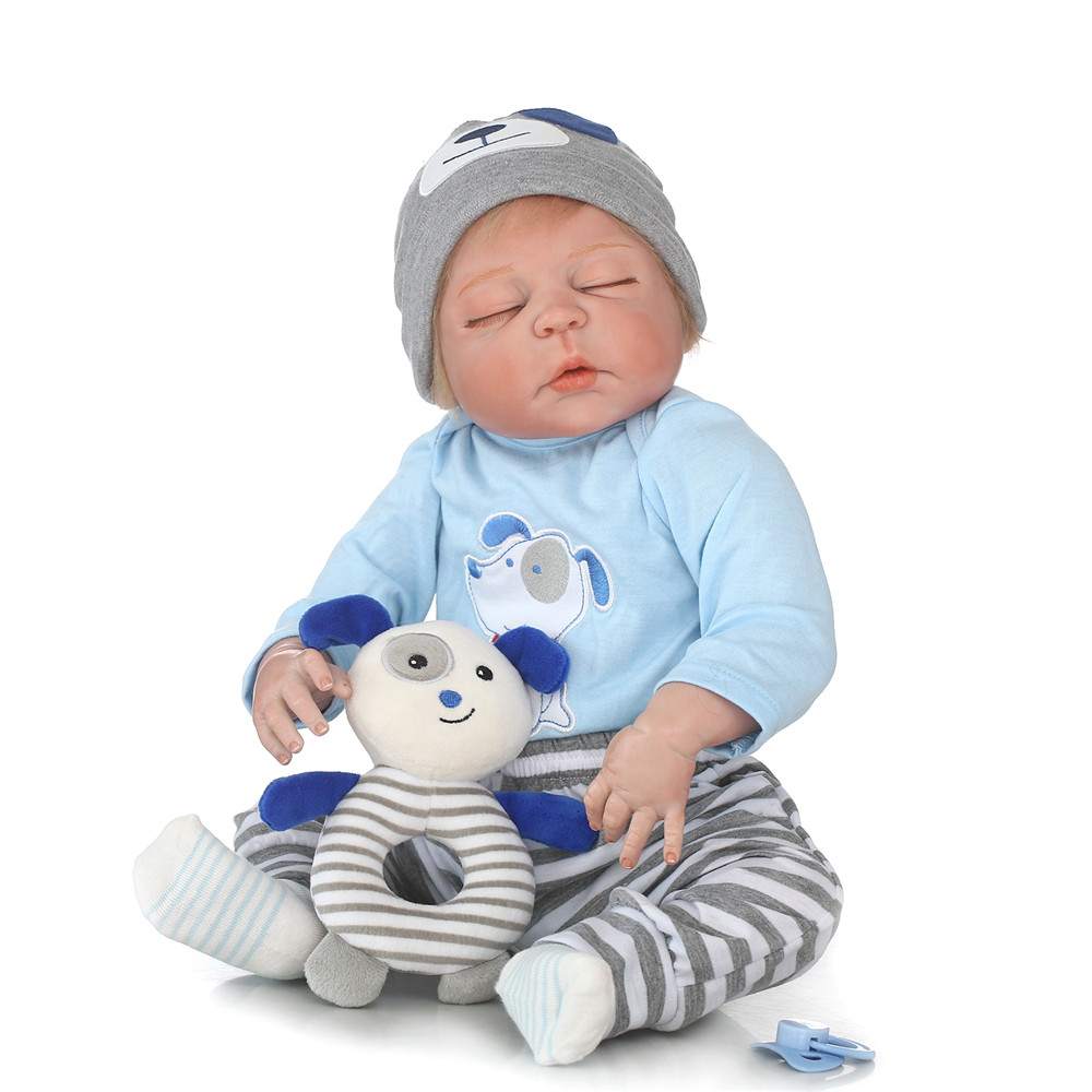 Bebe-reborn 23 NPK boy reborn babies dolls full silicone body children gift toy dolls can bathe bonecas reborn brinquedosBebe-reborn 23 NPK boy reborn babies dolls full silicone body children gift toy dolls can bathe bonecas reborn brinquedos