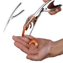 1 шт. нож для чистки креветок нож для креветок Deveiners устройство для очистки рыболовный инструмент креативный кухонный гаджет инструмент для приготовления морепродуктов