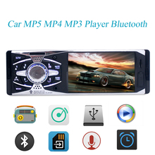 "4.1 ""Pulgadas TFT de ALTA DEFINICIÓN de Pantalla Digital de Coches MP5 MP4 Reproductor de MP3 Bluetooth manos libres FM Radio Reproductor USB SD Aux-in Car Audio Estéreo 1 Din"