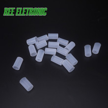 Silicone cap 50pcs/lot Electronic Cigarette Disposable Tip Cover Testing Mouthpiece for CE4 CE5 T3S MT3 H2 Atomizer