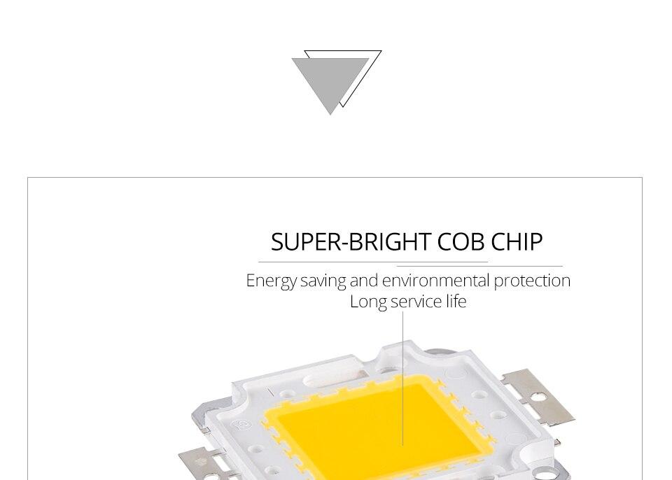 LED Chip 12V 10W 30V-36V 20W 30W 50W 100W Integrated COB LED Beads DIY Floodlight (7)