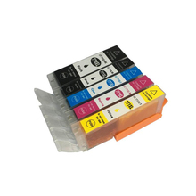 vilaxh 1set 5pcs PGI-770 CLI-771 Ink Cartridges compatible For Canon PGI 770 CLI 771 Pixma MG6870 MG5770 MG7770