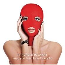 Exotic Accessories Head Sex Mask Fetish Slave BDSM Bondage Restraints S