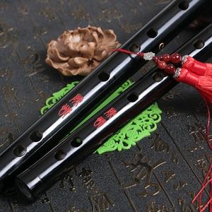 Chenqing الخيزران الناي الصينية dizi الأسود المهنية النفخ المزامير آلات موسيقية Cdefg مفتاح مستعرضة Flauta
