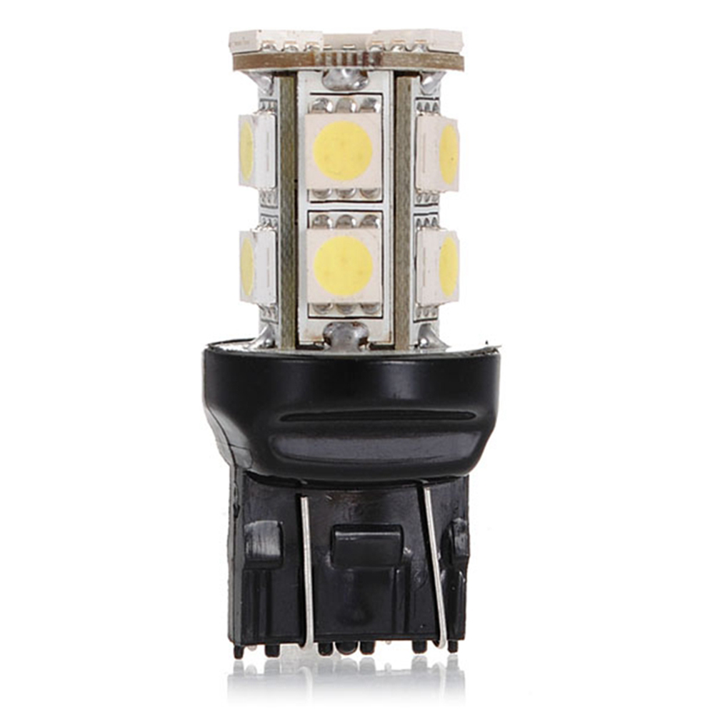 High Quality 7443 13 SMD 5050 T20 W21/5W LED Pure White Car Auto Light Source Brake Parking Reverse Lamp Bulb D C12V image