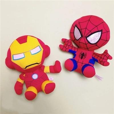 DC Marvel Plush Toys Avengers Superhero Plush Dolls Captain America Ironman Iron man Spiderman Hulk Plush Soft Toy Spider man in Movies TV from Toys Hobbies