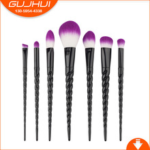 7 Makeup Brushes, Unicorns, Spiral Makeup Tools, Beauty Tools, GUJHUI Rhymes