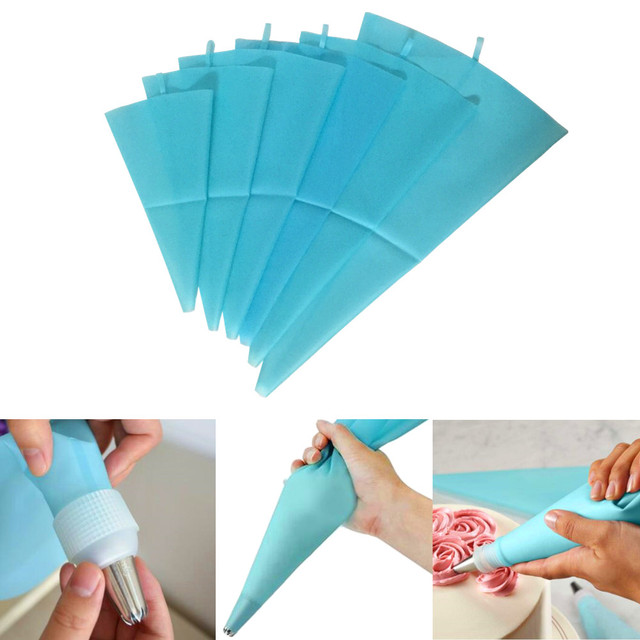 1pcs confectionery equipment silicone reusable icing piping pastry