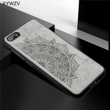 Huawei Y5 Prime 2018 Case Shockproof Soft Silicone Luxury Cloth Texture Phone For Cover