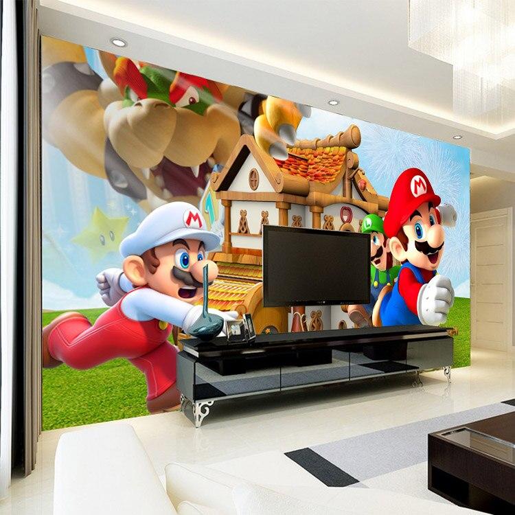 Aliexpress com Buy Super Mario Photo Wallpaper Personalized. Super Mario Wallpaper For Walls