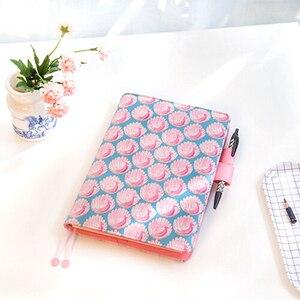 Image 2 - 2018 Stile Giapponese Ufficio Tempo Personal Organizer Notebook Giorno Settimanale Mensile Piano Kawaii Planner Agenda Diario di Viaggio A5 A6