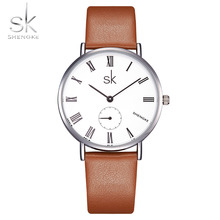 цена на Shengke 2018 Watches Ladies Luxury Brand Quartz Watch For Women Bracelet Wristwatch Female Clock Relogio Feminino Montre Femme