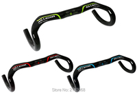 Newest Compact Type ASIACOM Racing Road Bike 3K Full Carbon Fibre Bicycle Handlebar Carbon Bent Bar