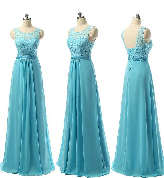 Online buy wholesale beach wedding dresses for bridesmaids for Sky blue wedding guest dresses