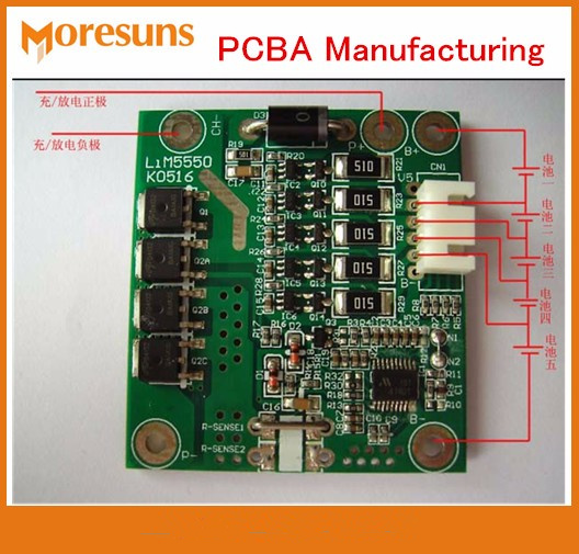 US $2 75 8% OFF|FR4 HASL ENIG Gold OSP Double Side PCB PCBA Manufactuing  SMT Line PCBA Soldering High Frequency laminates PCB Production-in