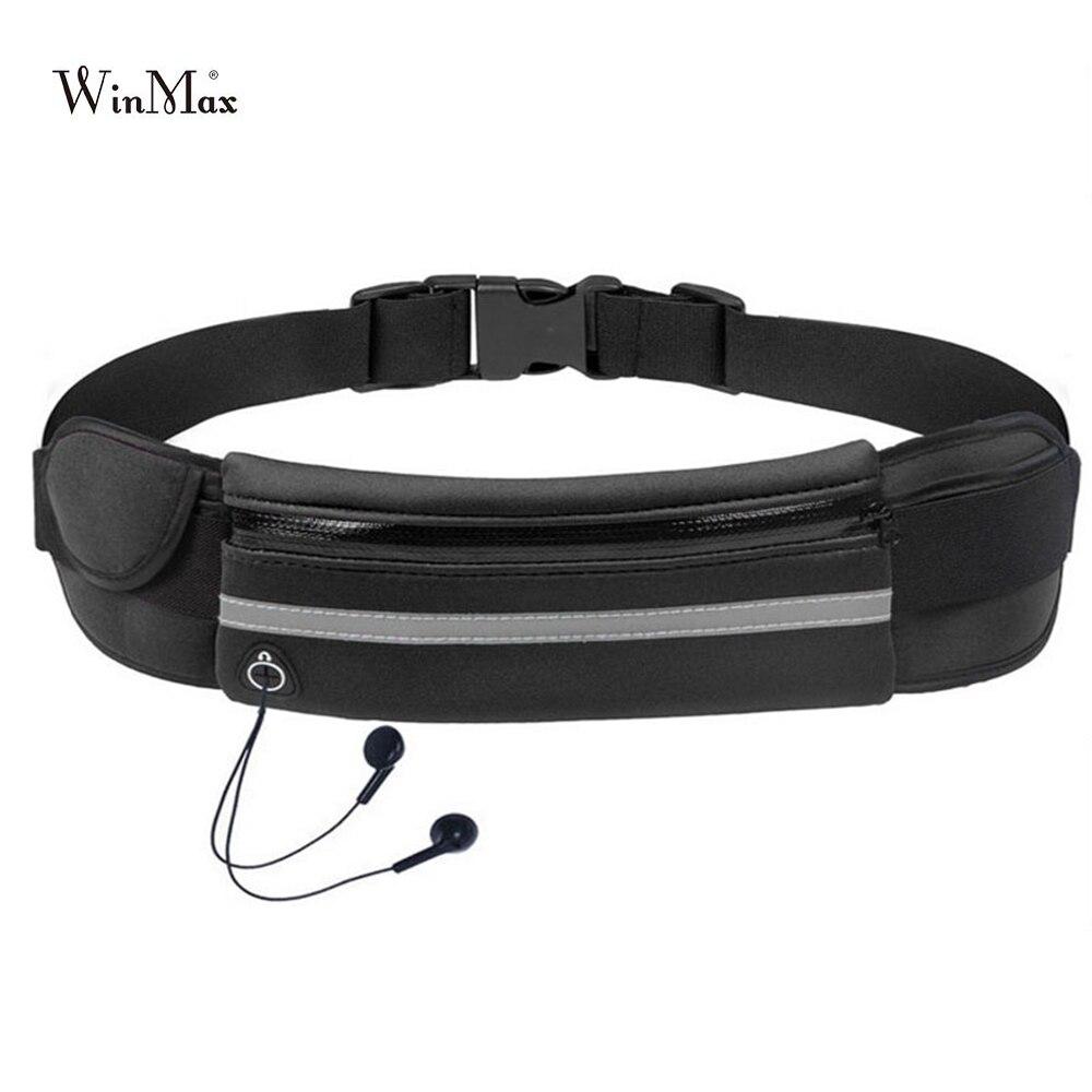 Al aire libre al cintura bolsa impermeable soporte de teléfono móvil para trotar cinturón vientre bolsa gimnasio bolsa dama deporte Accesorios