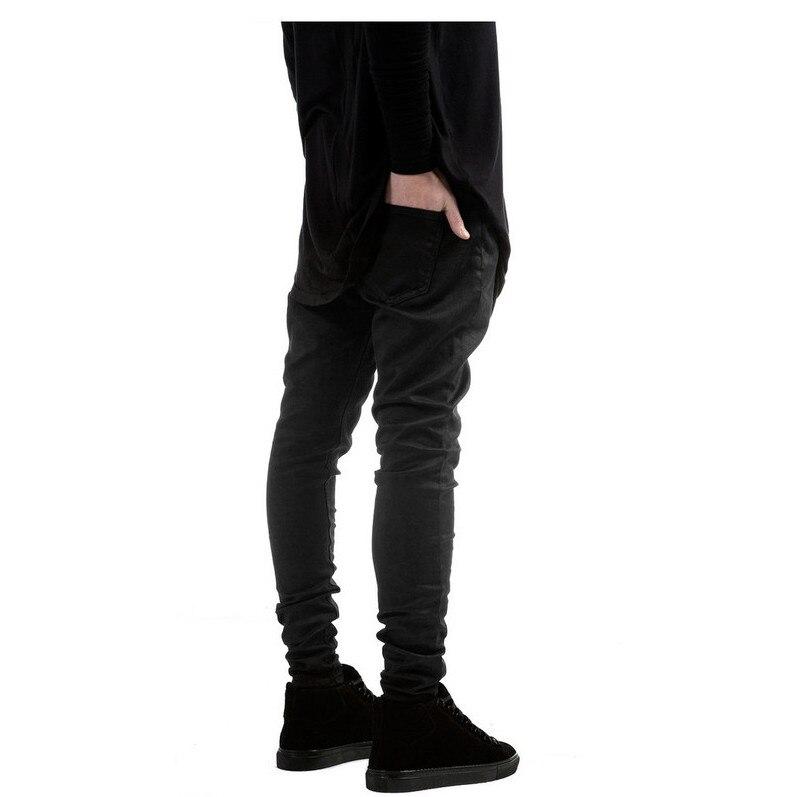 Black skinny jeans coated
