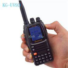 walkie talkie wouxun KG-UV9D Multi-Band Portable two way radio 136-174/400-512mhz ham radio 999 channels Amateur transceiver