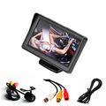 CARPRIE 4.3'' LCD Car Rear View Monitor Night Vision Reverse Backup Camera Waterproof