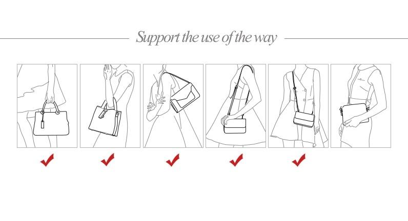 bolsa de ombro bolsa de couro sac bolsa feminina