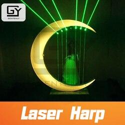 Room escape prop spielen laser harfe touch die laser strahl mit rechts rhythmus/sequenz, um flucht aus der zimmer musical notes prop