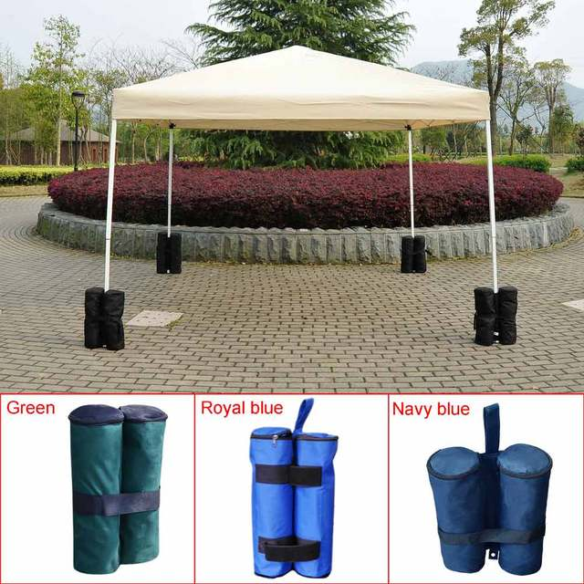 1pc Portable Outdoor C&ing Windproof Marquee Leg Weights for Pop up Canopy Pavilion Tent Sandbag Marquee : weights for tent legs - memphite.com