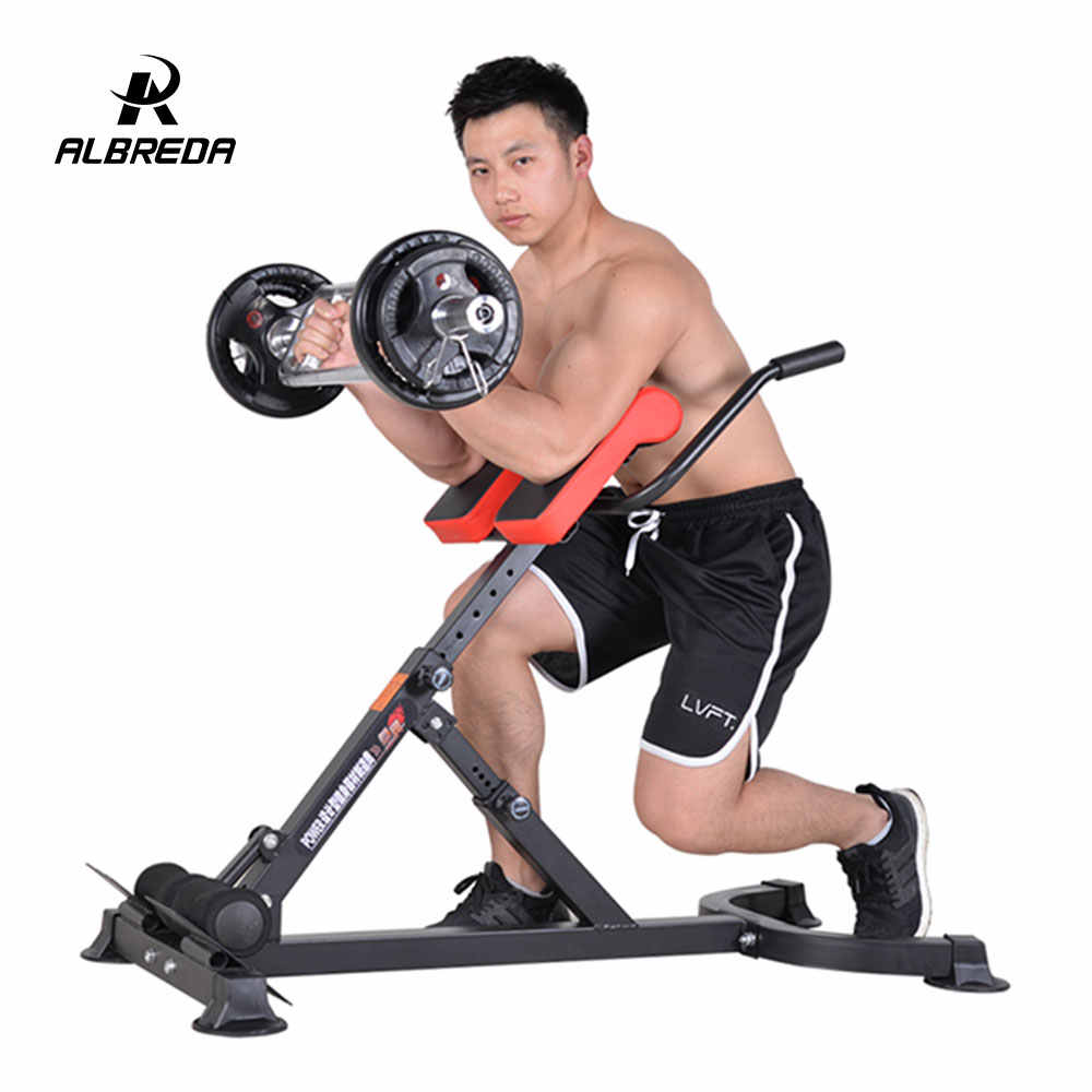 Chair Exercise Albreda Roman Chair Multi Functional Waist Gym Exercise Fitness Chair Dumbbell Stool Goat Chair Fitness Equipment