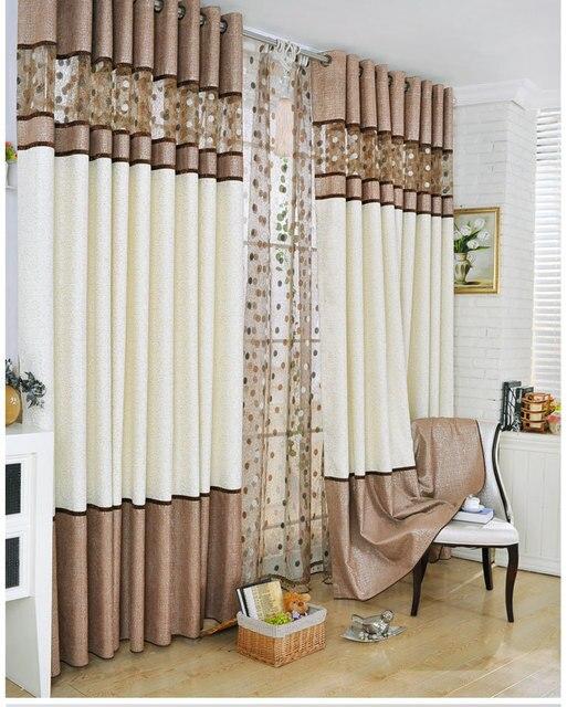 lscl cortina dormitorio chenille patchwork recorte nido de pjaro cortina de de la