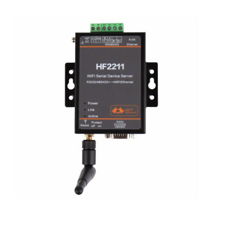 все цены на Converter Module Serial to WiFi RS232/RS485/RS422 to WiFi/Ethernet for Industrial Automation Data Transmission онлайн
