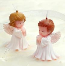 Hot New 1Pc Cute Baby Birthday Candles Angel/Boy/Girl Cake Decoration Party Wedding Accessories Supplies