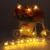 10 m 80 Blanco Caliente LED Cadena Luces de Hadas Luces de Navidad Garland Batería Operado Guirlande Lumineuse Led Decoración de La Boda