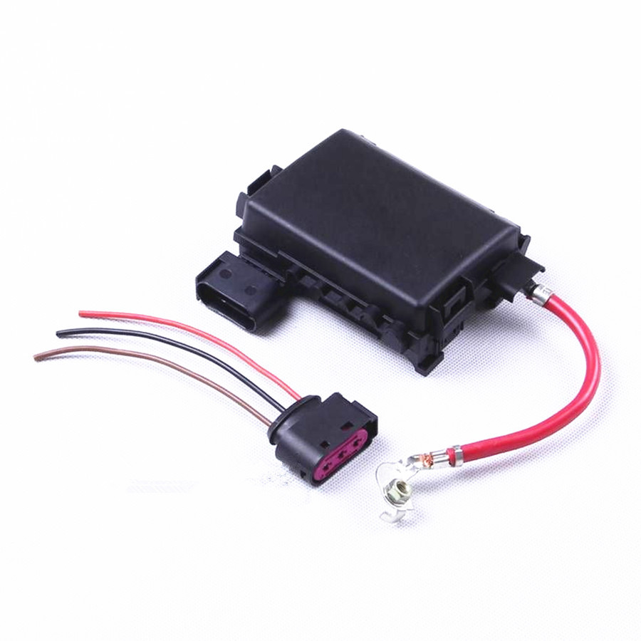 Car Battery Fuse Box Assembly For Vw Beetle Jetta Bora Golf Mk4 A3 Octavia  Seat Leon