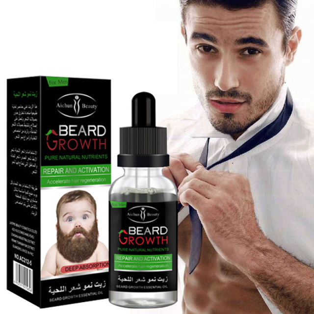 Nice 2pcs Natural Organic Beard Oil Balsam Wax Hair Loss Conditioner For Fast  Beard Growth Essence Hair