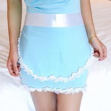 ZGOGO Slips kobiety maild cospaly pełne slipy + fartuch + t spodnie zestawy hot blue heongsam styl slip wysokiej jakości hurtownie tanie tanio WOMEN Poślizgnięcia Poliester COTTON 5596 Pełne zrazy