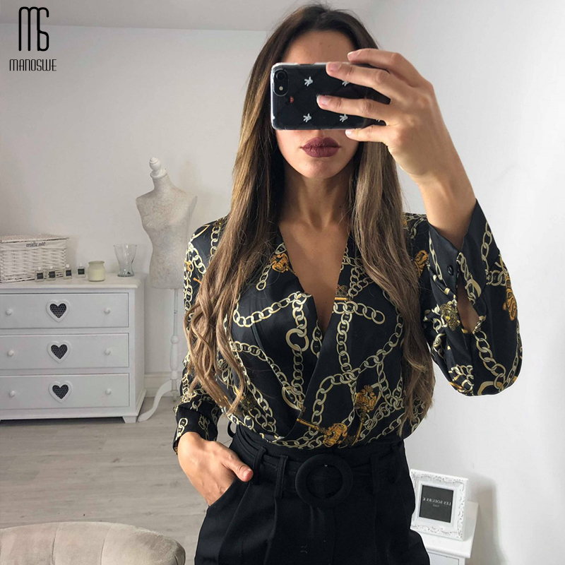 Stylish Women Long Sleeve Bodysuits V Neck Half Sleeve Soft Jumpsuit Overalls Streetwear Female Romper Be It Summer Clothes 2019