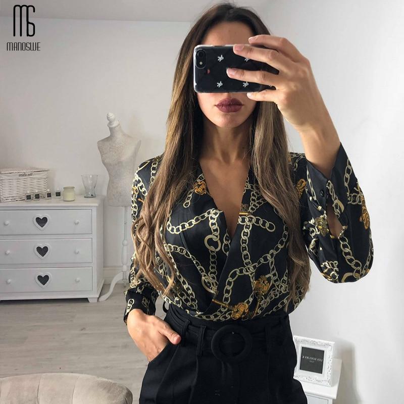 Stylish Women Long Sleeve Bodysuits V Neck Half Sleeve Soft Jumpsuit Overalls Streetwear Female Romper Be It Summer Clothes 2019