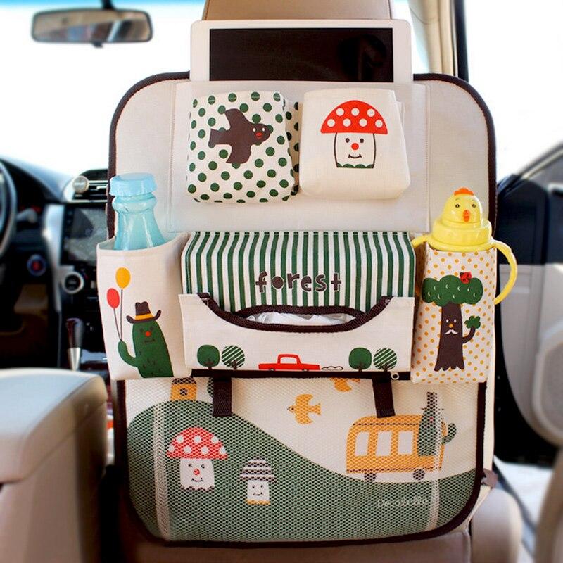 Smdppwdbb impermeable universal Baby cochecito organizador coche de bebé colgante cesta cochecito Accesorios iPad bolsa
